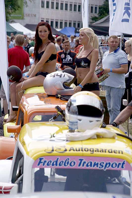 Viel zu sehen gibt es bein Classic Car Race