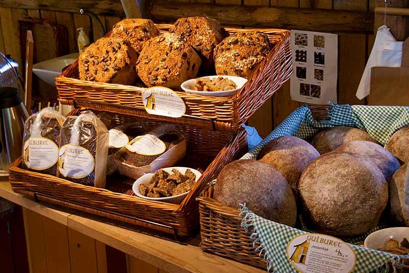 Leckeres Brot, Lebensmittel aus der Region