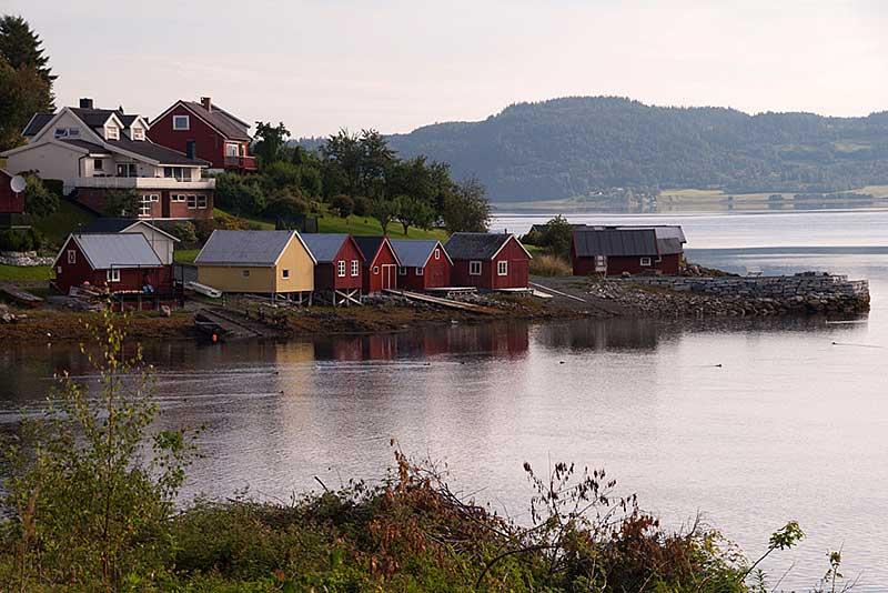 Morgenstimmung am Trondheim Fjord