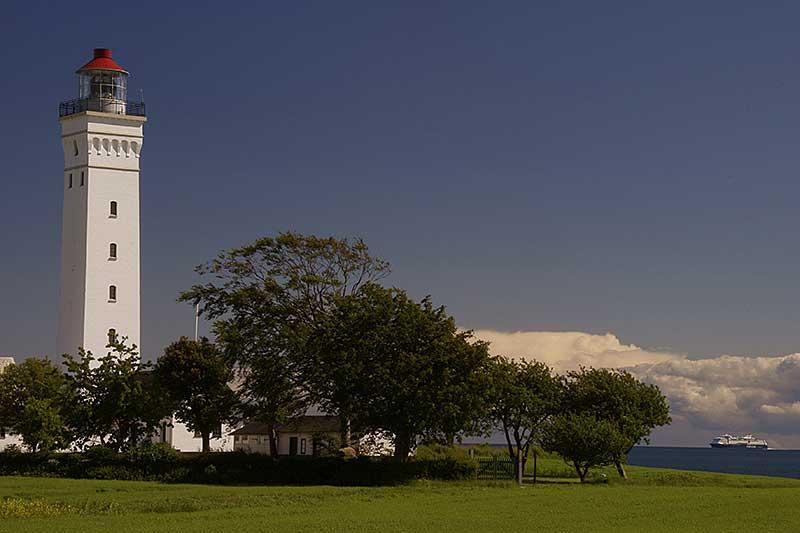 Leuchtturm Keldsnoer mit Color Fantasy